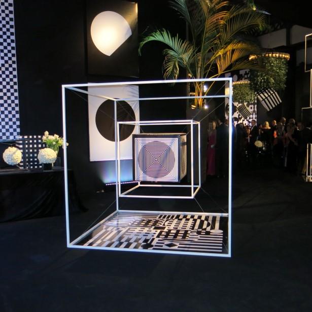 Detalhes da decoração de Antonio Neves da Rocha