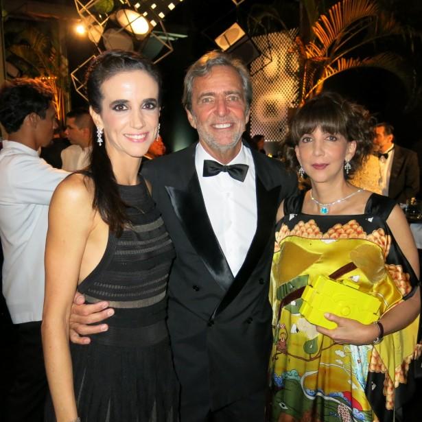 Camila Jereisati,  Dida Mader e Mara Fainziliber