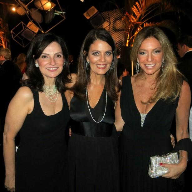 Monica Ridolfi e Tininha Machado Coelho e Sacha Cryzman