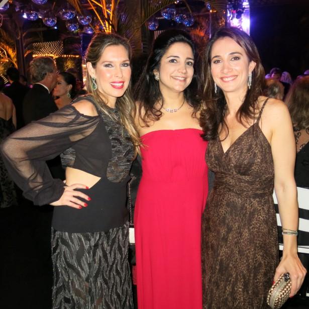 Theresa Hermanny, Marianno Azeredo Santos e Paula Villela