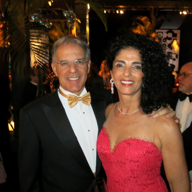 Nelson e Marina Silva