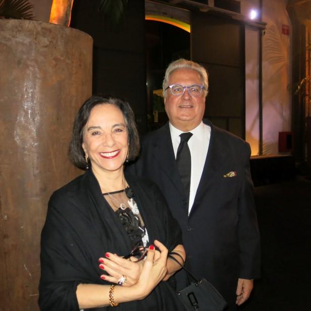 Isabelle de Segur e Cesar Arthou