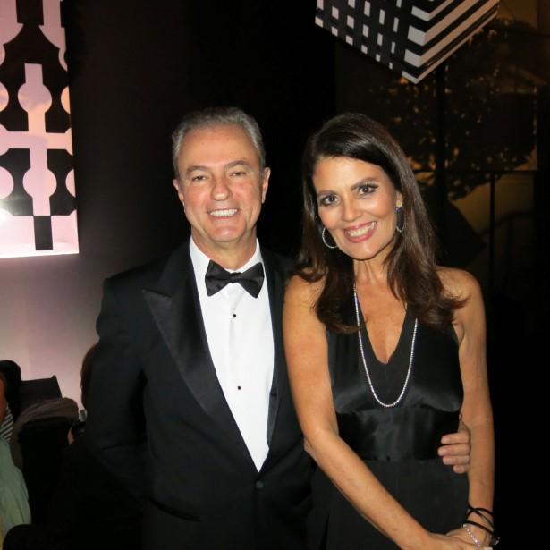 Kiko Malzoni e Tininha Machado Coelho