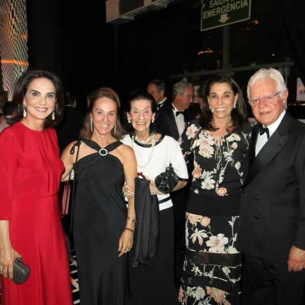 Clara vaconcellos, Maria Pia Müssnich, Glorinha Müssnich, Bebel Malzoni e Moreira Franco