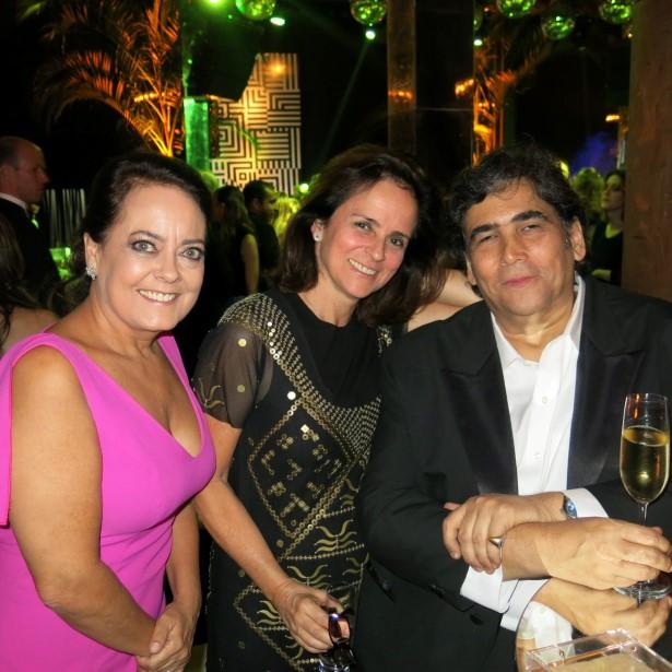 Monica MacDowell, Patricia Quentel e Antonio Neves da Rocha