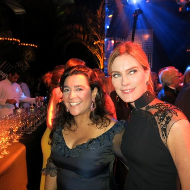 Luciana Conde e Betina Haegler