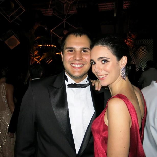 Bruno Fabrianni e Maria Eduarda Braga Padilha