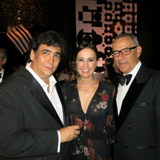 Antonio Neves da Rocha, Carolina Gayoso e Antonio Dias Leite