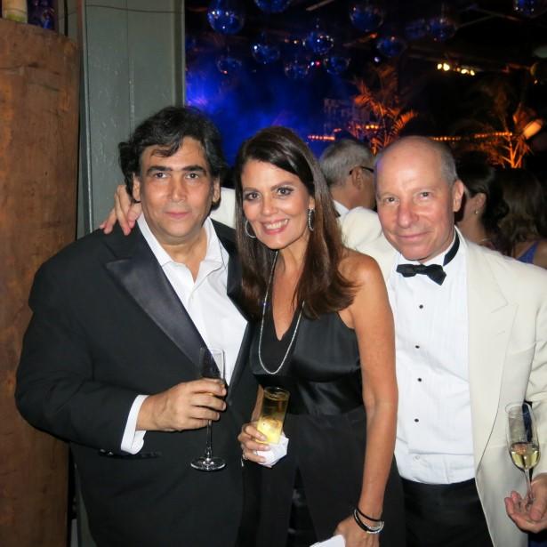 Antonio Neves da Rocha, Tininha Machado Coelho e Chico Müssnich