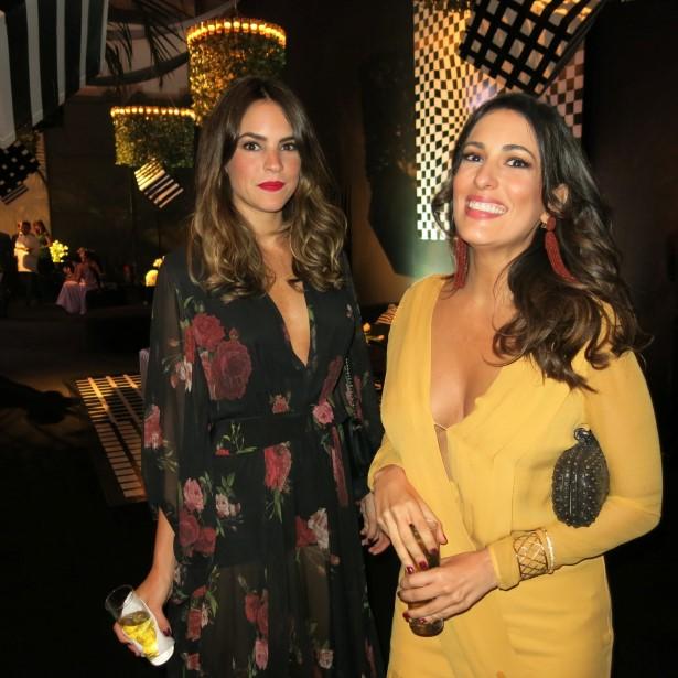 Juliana Calcena e Isabel Taunay