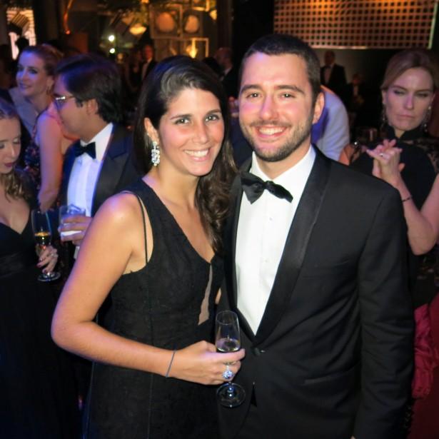 Mariela Prado Kelly e Gabriel Sauer