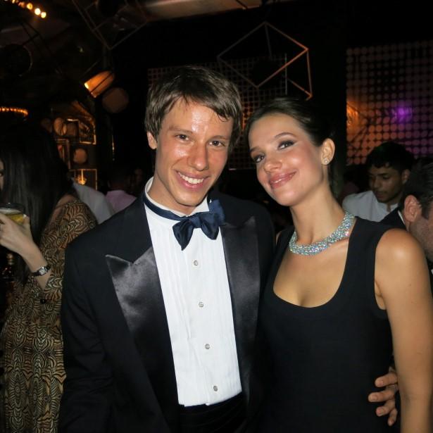 Os irmãos Francisco e Luiza Müssnich
