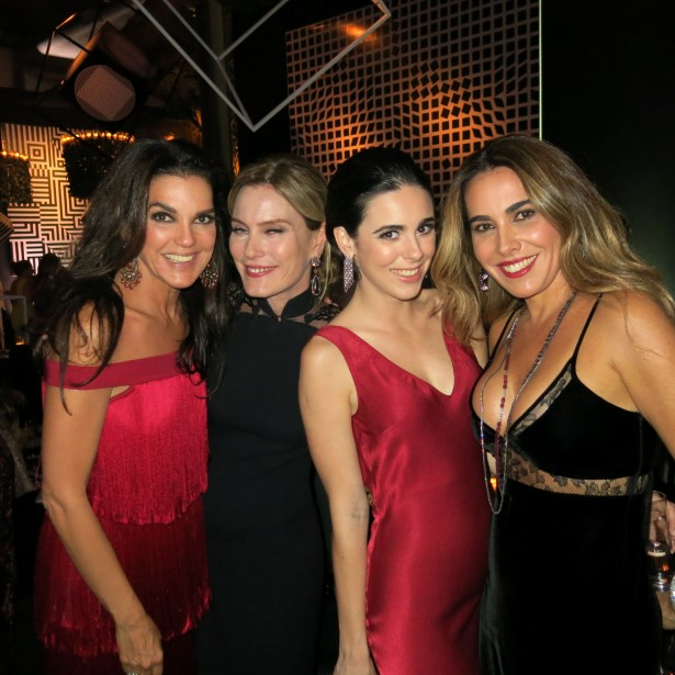 Beth Accurso, Betinna Haegler, Maria Eduarda Braga Padilha e Rita Zecchin