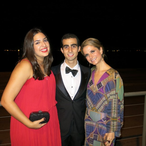 Paula Pinto, Miguel Müssnich e Ana Cecília Gros