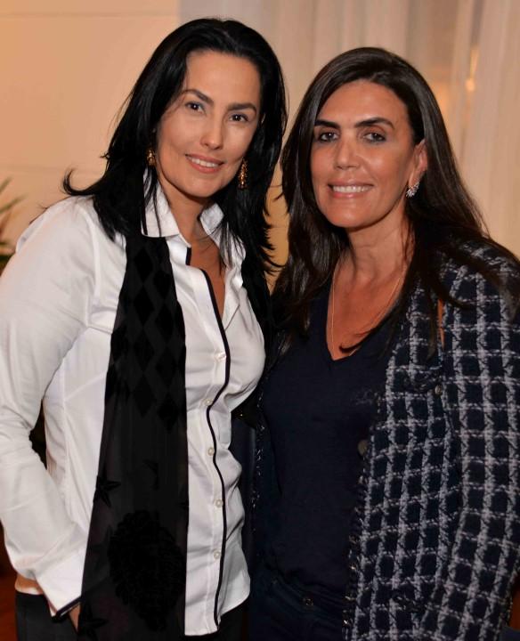 Adriana Almeida e Ina Arruda