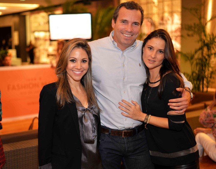 Alessandra Amaral, Wilson Barcellos e Gabriela Simões