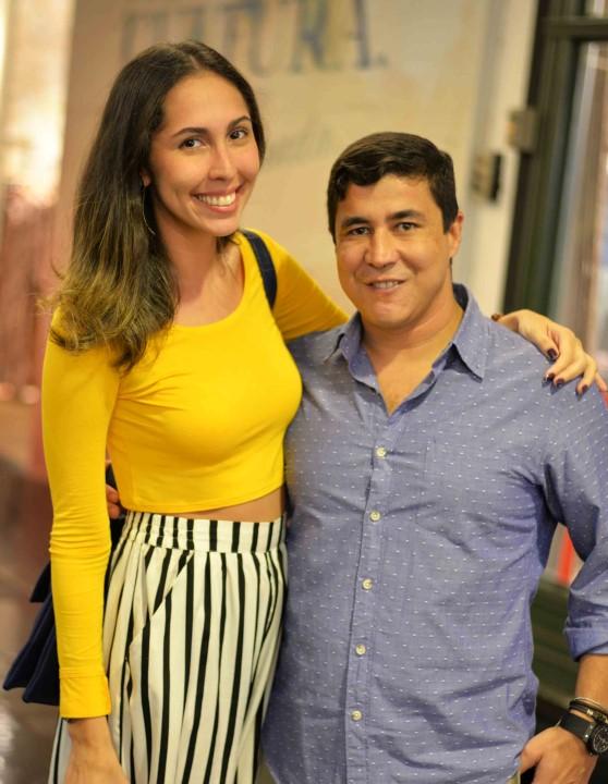 Ana Luiza Soares e Diogenes de Queiroz