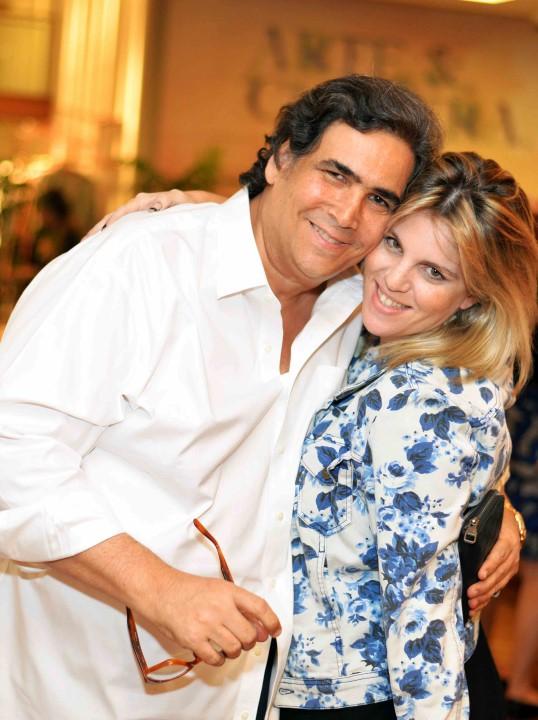 Antonio Neves da Rocha e DJ Scarlet