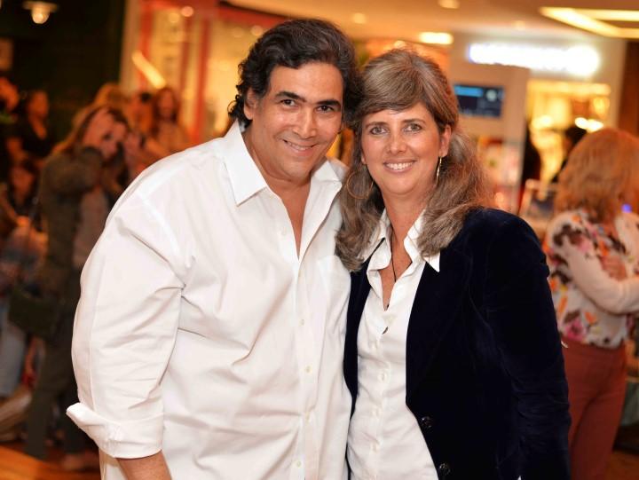 Antonio Neves da Rocha e Kika Gama Lobo