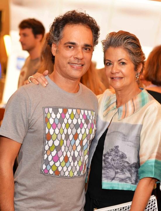 Franklin Pedroso e Maria Carmen Perlingeiro