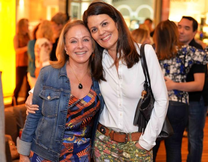 Graça Oliveira Santos e Tininha Machado Coelho