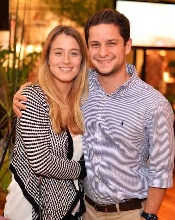 Laura Rocha e Bernardo Campos