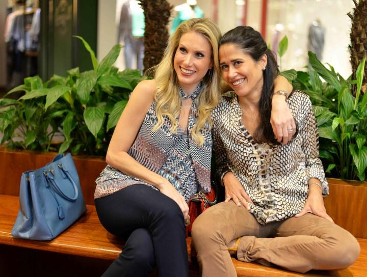 Leticia Levy e Paula Severiano Ribeiro
