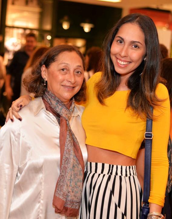 Maria das Gracas e Ana Luiza Soares