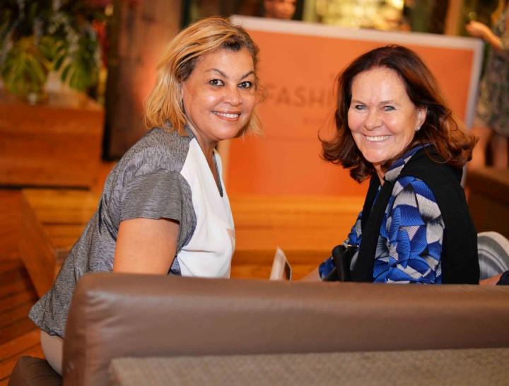 Valeria Cabral e Xenia Goes