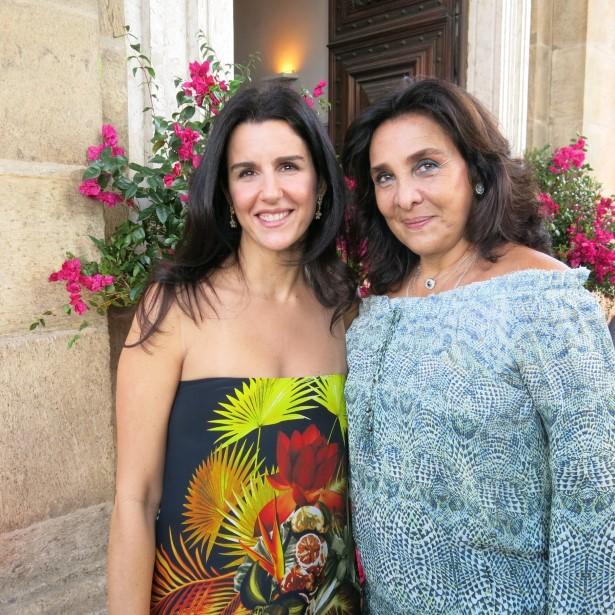 Maria Mayrink Veiga e Christiana Malta