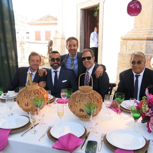 Nando Grabowsky, François-Xavier Dussol, Pedro Guimarães, Marzio Fiorini e Adriano Biscayzacu