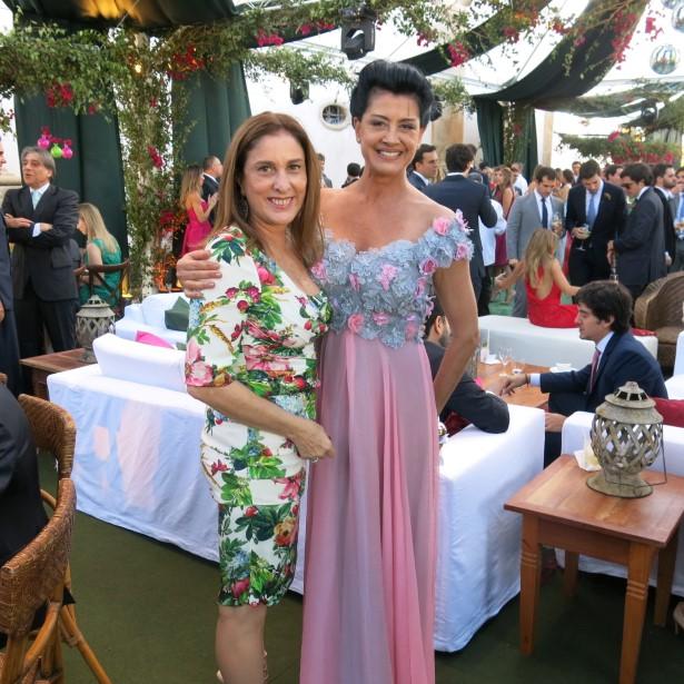 Anna Luiza Avellar e Cristina Brasil
