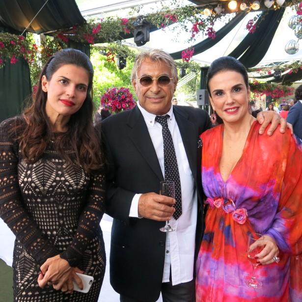 Isabela Lemos de Moraes, Adriano Sosa Biscayzacu e Georgeana Vasconcellos