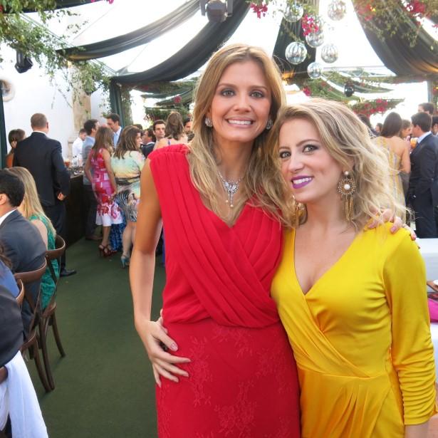 Patricia Moraes e Andrea Petrosemolo