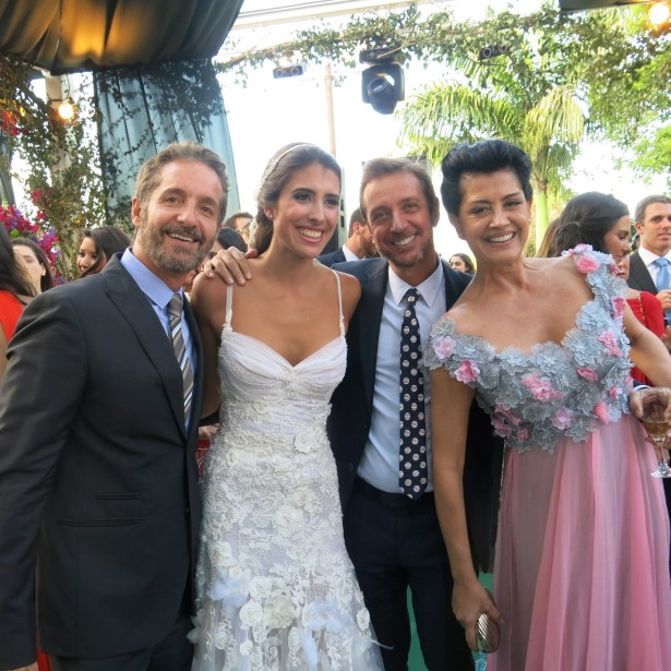 Pedro Guimarães, Maria Helena Pessoa de Queiroz e Nando Grabowsky e Cristina Brasil