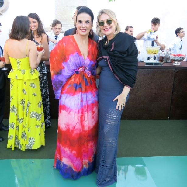 Georgeana Vasconcellos e Marcia Müller