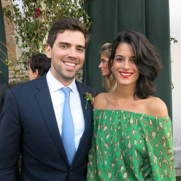 Antonio Palhares e Valentina Falk