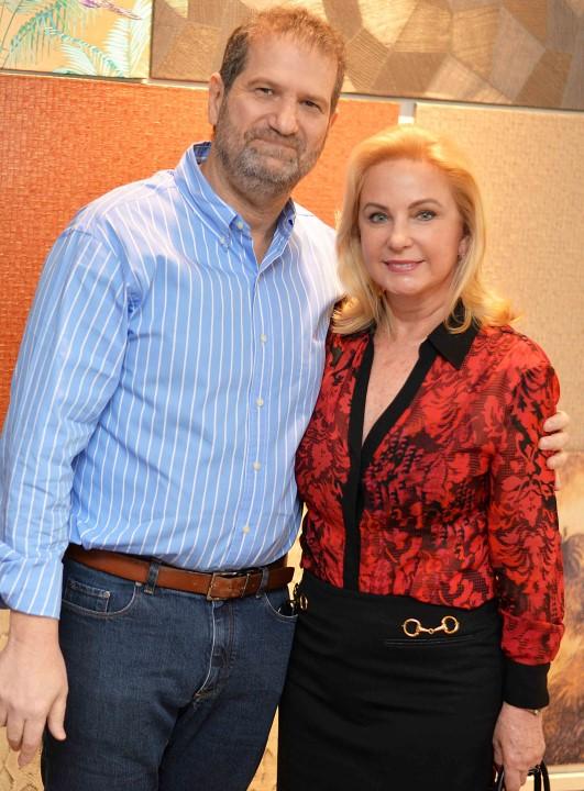 Jacob Orlean e Solange Medina