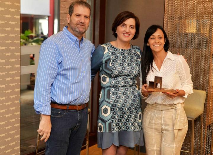 Jacob Orlean, Simone Orlean e Heloisa Carneiro