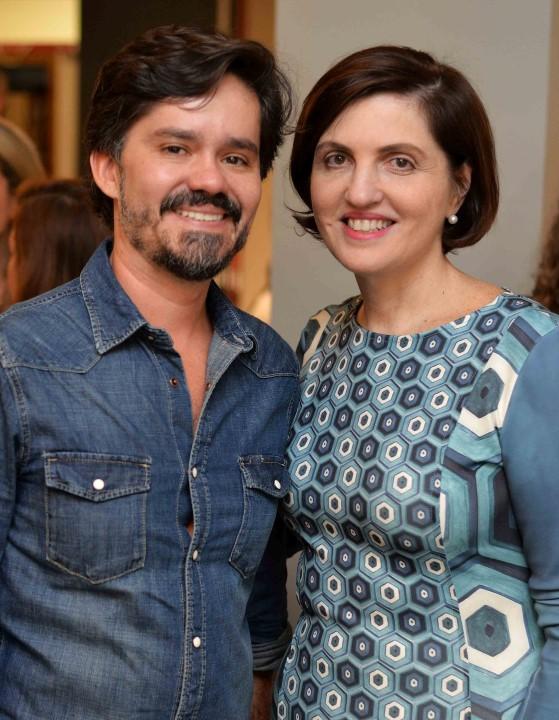 Ricardo Melo e Simone Orlean