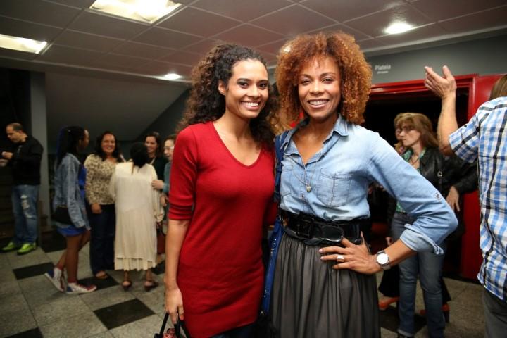 Aisha Jambo e Lica Oliveira. (Custom)