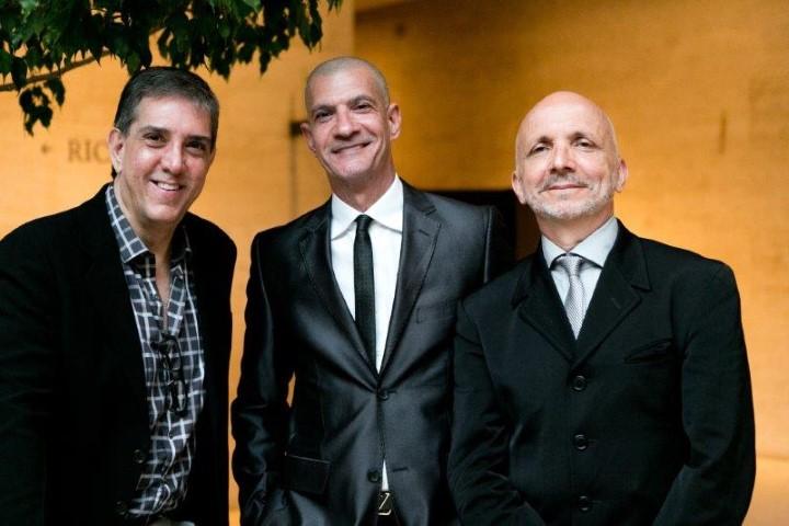 Bernardo Schor, Junior Grego e Ronald Goulart