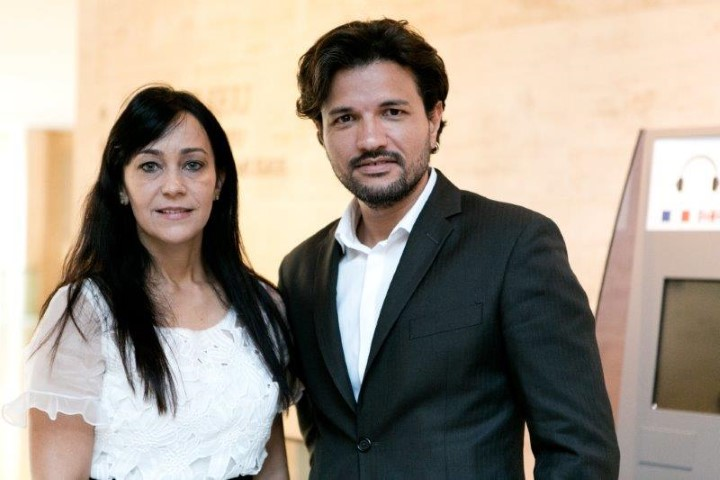 Heloisa Carneiro e Bruno Rangel