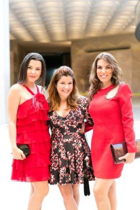 Marcela Passamani , Juliana Ferraz e Cybelle Barbosa