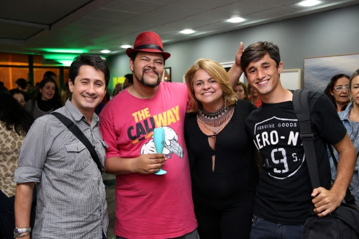 Marcio Marques, Babu Santana, Janaina Souto, Caio Souto (Custom)