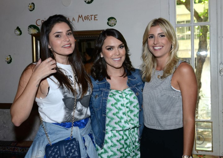 Camila Marins, Lari Duarte e Dandynha Barbosa