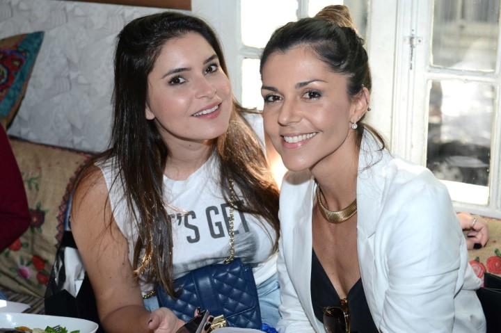 Camila Marins e Rafaela Cardoso