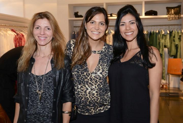 Nadja Tonelli, Carol Sampaio e Bruna Oliveira