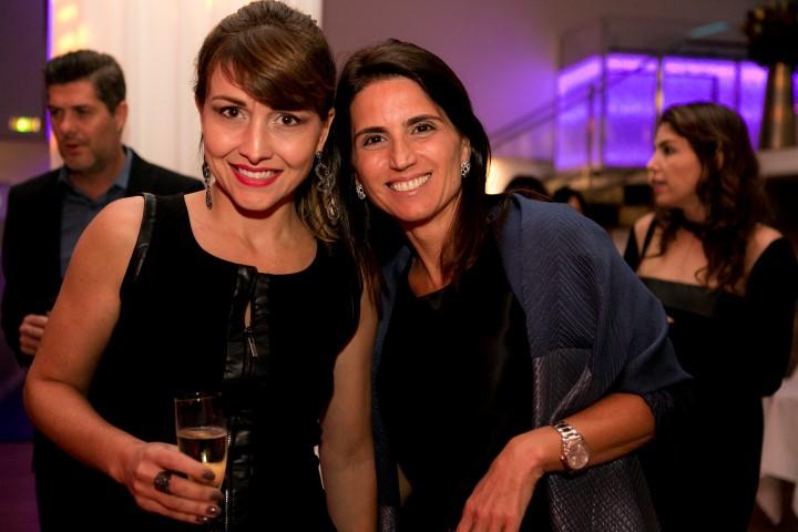 Viviane Fortes e Ana Lucia Juca