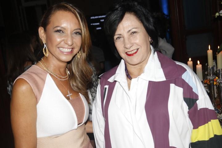 Adriana Mota e Tania Muniz Barreto
